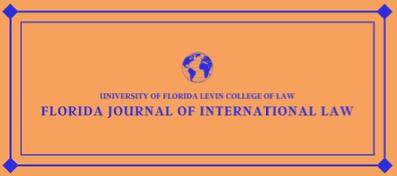 Florida Journal of International Law